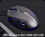 Mouse AULA 9031 Xám Led USB