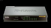 DES-1008PA 8-Port Fast Ethernet PoE Desktop Switch