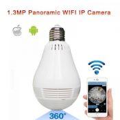 Camera IP không dây ngụy trang bóng đèn 1.3 Megapixel J-TECH HD6110W