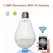 Camera IP không dây ngụy trang bóng đèn 3.0 Megapixel J-TECH HD6110C