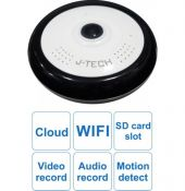 J-Tech  HD6115W (1.3MP/H.264+, chế độ ghi Panorama 360o)