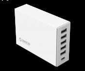 Sạc điện thoại Orico USB 6 cổng Type C (TSL-6U)