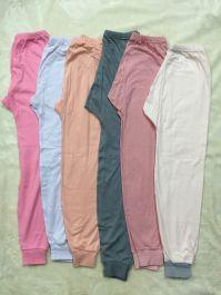 sp000023-34 quần bt va bg xuất hàn thun cotton đanh mềm, size 60-85,1 lốc/2c khác màu, ri 15 lốc