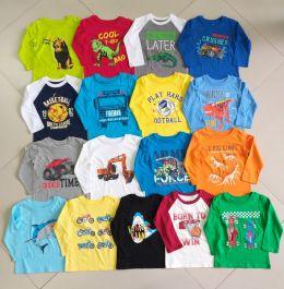sp000454-80 áo bé trai tay dai hiệu minmax size 1-5 ri 20 trộn