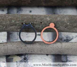 Nhẫn gỗ JA004