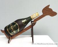 Gác chai rượu gỗ 01