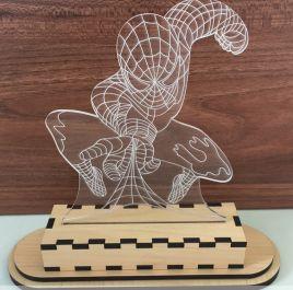 Đèn Mica Spider Man