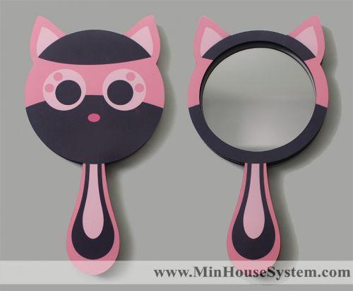 Gương Gỗ Mèo