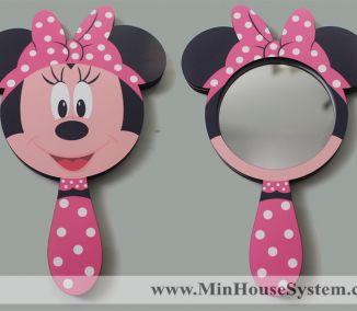 Gương Gỗ Mickey