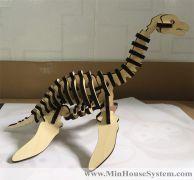 Mô Hình Khủng Long Cổ Dài 3D