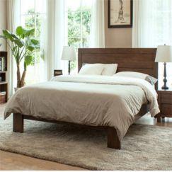 Giường gỗ tự nhiên mang phong cách hiện đại GG 02