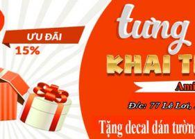 Khai trương cửa hàng bán tranh AmiA tại Phủ Lý Hà Nam