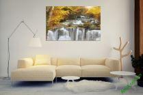 Tranh thác nước có phong cảnh đẹp hiền hòa AmiA 383