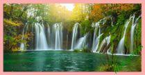Tranh thác nước cực đẹp có kích cỡ khổ lớn 2 mét AmiA362