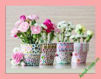 Tranh lọ hoa treo phòng khách, phòng ngủ đẹp AmiA 353