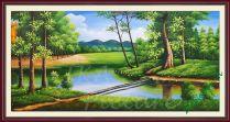 TSD 171 - Tranh sơn dầu vẽ phong cảnh thiên nhiên