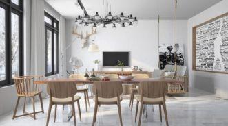 Những thiết kế bàn ăn phong cách công nghiệp