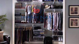 Những mẫu tủ quần áo cho căn phòng chật hẹp