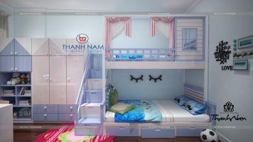 Nội thất phòng ngủ cho bé -Thanhnamhome-12