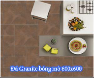 ĐÁ GRANITE WHITEHORSE BẠCH MÃ BÓNG MỜ 60X60 HS 6001