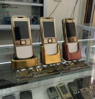 Nokia 8800 arte da trắng vỏ thay  mới 99%