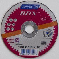 Đá cắt mỏng 100X1.6X16.0 Norton BDX