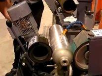 Máy đánh bóng inox cố định GXC-PQ 75 2H