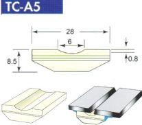 Sứ lót hàn giáp mối đáy phẳng TC-A 5