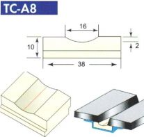 Sứ lót hàn giáp mối TC-A 8