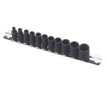 """Bộ khẩu dùng cho súng 1/4"""" với 11 chi tiết hệ inch Genius TF-211S"""