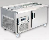 Bàn lạnh Berjaya BS1D/SSC4/C
