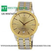 Đồng hồ Omega 802M dây đờ mi - mặt vàng