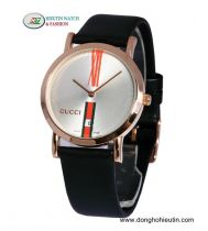 Đồng hồ dây da Gucci 103G-WL02