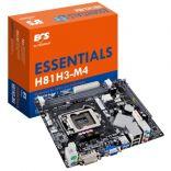 ECS H81H3-M4 (Chipset Intel H81/ Socket SK1150/ VGA onboard)