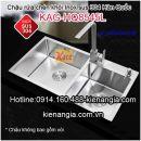 Chậu rửa chén inox 304 liền khối nhập khẩu KAG-HQ8545L