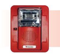 Còi đèn chớp kết hợp báo cháy HEC3-24WR