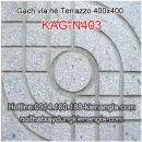 Gạch vỉa hè Terrazzo 400x400 KAG-N403