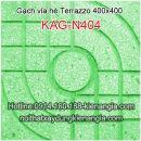 Gạch vỉa hè Terrazzo 400x400 KAG-N404