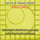 Gạch vỉa hè Terrazzo 400x400 KAG-O402
