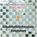 Gạch mosaic trang trí 300x300 KAG-MA157