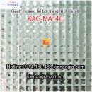 Gạch mosaic ốp lát hồ bơi đơn màu 30x30 KAG-MA146