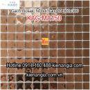 Gạch mosaic thủy tinh đơn màu 30x30 KAG-MA150