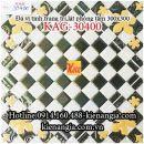 Đá vi tinh 30x30 trang trí lát Phòng tắm KAG-30400