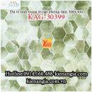 Đá vi tinh 30x30 trang trí bếp ,phòng khách KAG-30399