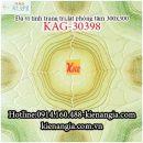 Đá vi tinh 30x30 trang trí phòng karaoke KAG-30398
