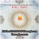 Đá vi tinh 30x30 trang trí lát WC KAG-30402
