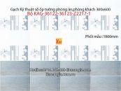 Gạch KTS ốp tường 30x60 Bộ KAG-36122-36123-Z2217-1