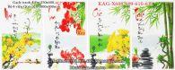 Gạch tranh 4 mùa bộ 4 viên 25x40 KAG-X608-609-610-611