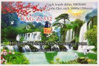 Gạch tranh phong cảnh 12 viên  300x600 KAG-Z2332