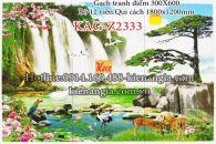 Gạch tranh phong cảnh 12 viên 300x600 KAG-Z2333